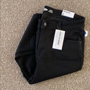 Old Navy Rockstar Black Jeans